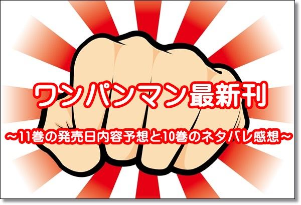 ワンパンマン 11巻 発売日