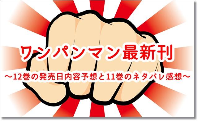 ワンパンマン 12巻 発売日